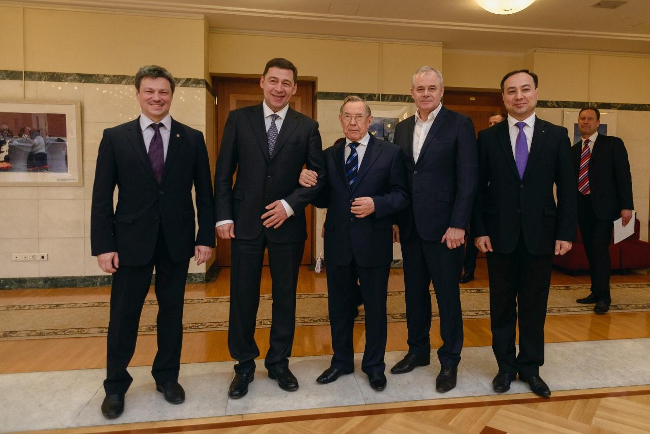 встреча губернатора Евгения Куйвашева с участниками III областного слета трудовых династий