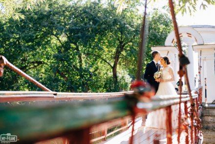 Свадебная съемка в парке
